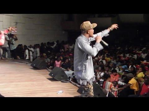 "Video: Rapper Fareed performs at Fancy Gadam's ""Gadam Nation Concert"""