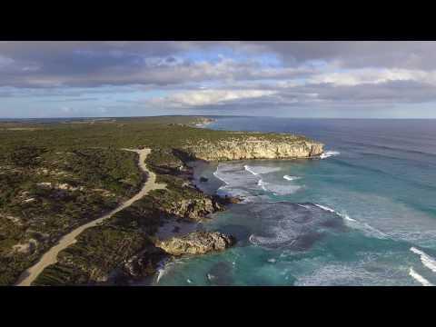 Drone footage of Pennington Bay