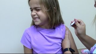 Flu Shots for 6 Kids and 2 Year Old Doctor Checkup - Video Youtube