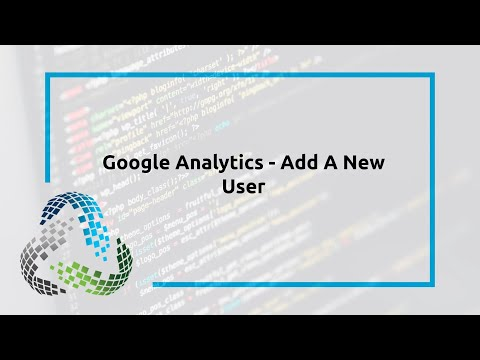 Google Analytics – Add A New User