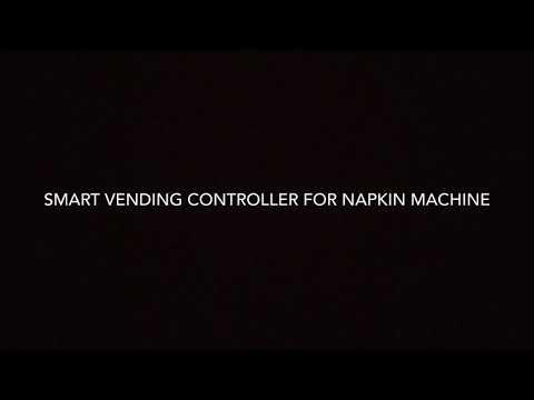 Sanitary Napkin Vending Machine Controller
