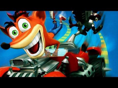 crash team racing playstation tv