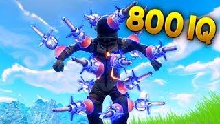 800 IQ CLINGER..!! |Fortnite Funny and Best Moments Ep.91 (Fortnite Battle Royale)