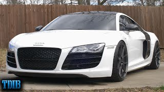 This Supercharged Audi R8 V10 is MIND BLOWING! (Why I Want One) by That Dude in Blue