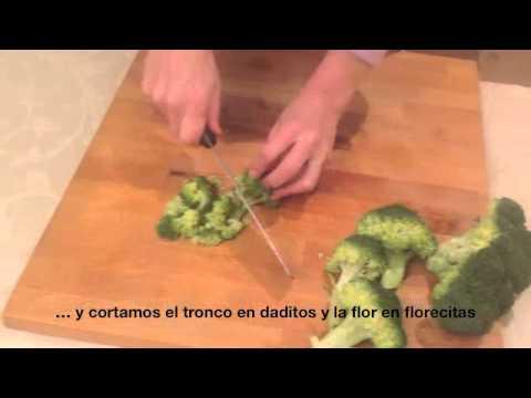 SALTEADO DE ZANAHORIA Y BRÓCOLI: verduras crujientes y sabrosas. Receta macrobiótica