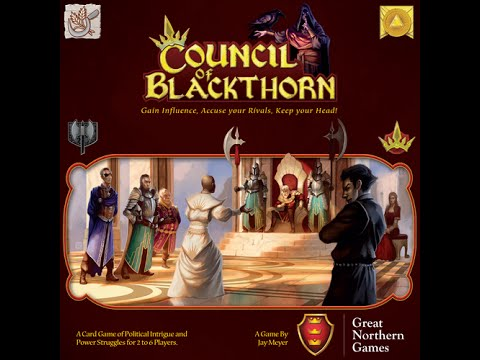 Board Game Brawl PREVIEWS - Council of Blackthorn