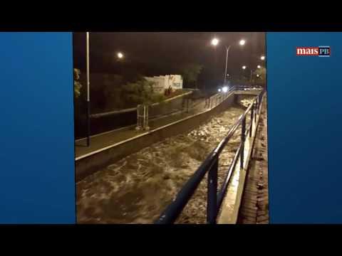 Volta a chover forte no Sertão da Paraíba