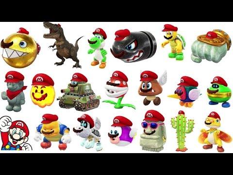 Super Mario Evolution Of Peach S Voice 1997 2017 Odyssey