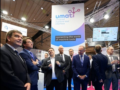 Connecting the world of machine tools - umati @ EMO Hannover 2019