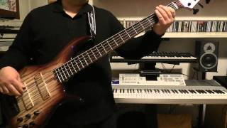 Bass Cover - Duran Duran - Vertigo (Do The Demolition) - with Furlanetto Fbass BN5 bass