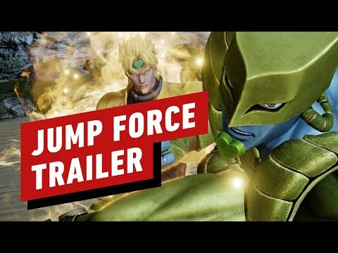 Jump Force - Jotaro and Dio Reveal Trailer