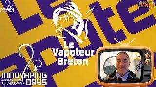 Le Vapoteur Breton : La fraise de Plougastel et sa coiffe de chantilly !