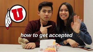 How We Got Into The University of Utah | Admissions, Application and Honors College