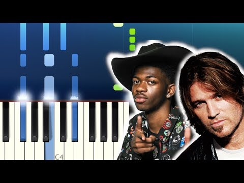 Lil Nas X - Old Town Road (feat. Billy Ray Cyrus) (Piano Tutorial)