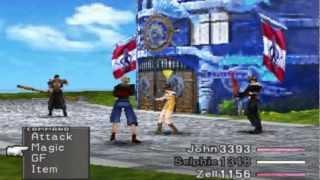 Final Fantasy VIII HD - Fujin and Raijin