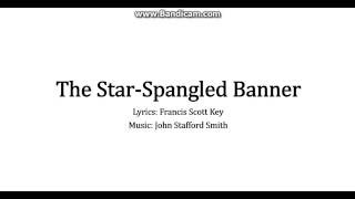 National Anthem of the United States of America - The Star-Spangled Banner (Lyrics)