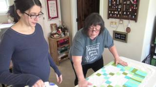 Baby Quilt with Fusible Batting