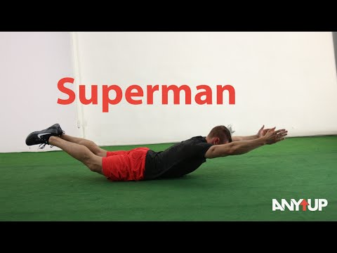 Superman Bodyweight Training Exercise