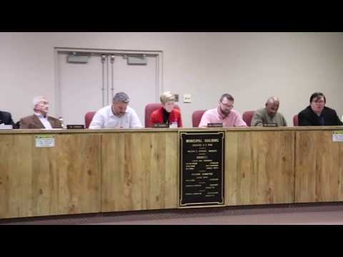 Donora Borough Council Meeting 11-14-2019