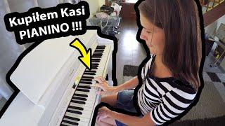10 lat po Ślubie !!! - Kupiłem Kasi PREZENT ... Pianino Roland HP 603 (Vlog #307)