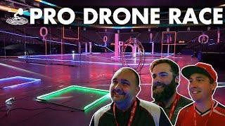 $25,000 up for grabs!? An inside look at the Xfinity Drone Race 2018 - Video Youtube