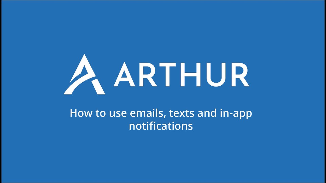 Watch How to use Emails, Texts and In-app notification