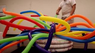 How Balloon Artist Austin Cardenas pops those balloons
