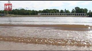В Великом Новгороде официально открылся купальный сезон