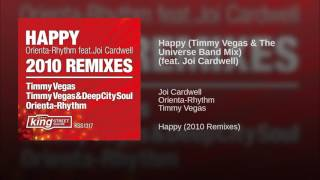 Happy (Timmy Vegas & The Universe Band Mix) (feat. Joi Cardwell)