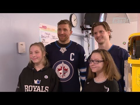 Winnipeg Jets Holiday Hospital Visits