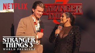 Joe Keery | Stranger Things 3 Premiere | Netflix
