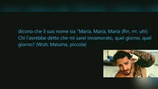 GIMS, Maluma   Hola Señorita (Maria) TraduzioneTranslation