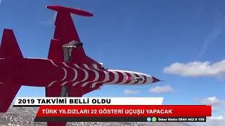 Türk yıldızları 22 gösteri uçuşu yapacak