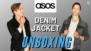 BEST BUDGET MENS DENIM JACKETS? | ASOS Denim Jacket Unboxing And Initial Impressions