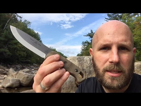 TOPS Brakimo Review: Survival and Bushcraft Knife, Solid Option for Camping, Bug Out Bags, Kits