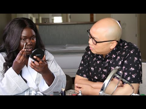 Professional Makeup Artist Watching Me Do my Makeup — WHAT DID WE LEARN?? Episode 1