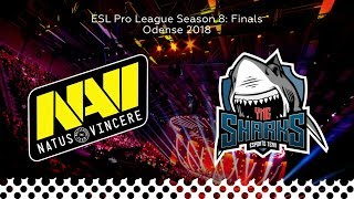 NaVi vs Sharks - Map2 @Dust2 | CSGO Highlights | ESL Pro League SEASON 8 (06.12.2018)