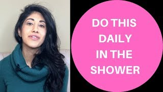 Do this Daily in the Shower to Detox, Reduce Cellulite, Improve Circulation and Muscle Recovery