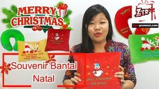 Jual souvenir bantal natal melayani grosir dan partai