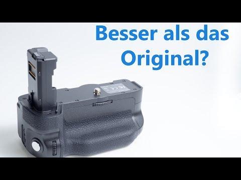 Unboxing und erster Eindruck des Neewer VG-C2EM Batteriegriff Nachbaus für Sony Alpha 7 II