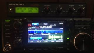 Icom IC 7600 Vs IC 7300, 14Mhz SSB