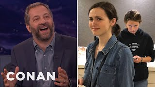 Download Youtube: Judd Apatow: My Daughters Think I'm A Hollywood Dick  - CONAN on TBS
