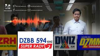 Interview on DZBB | Dec. 9, 2018