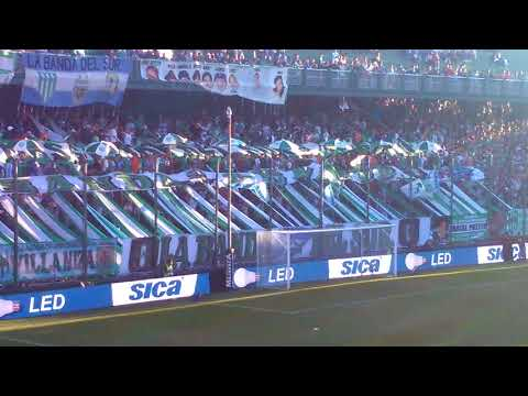 """Hinchada del Taladro (Banfield 1 Racing 0)"" Barra: La Banda del Sur • Club: Banfield"