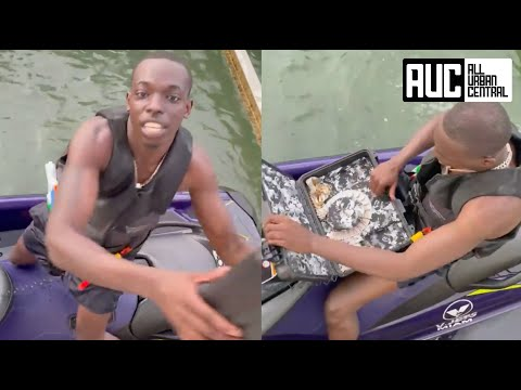 Bobby Shmurda Gets $200K Chain Delivered To Him While Riding Jet Skis With Quavo