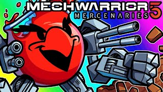 Mechwarrior 5 Funny Moments - Vandalism With the KOOL-AID ROBOT!