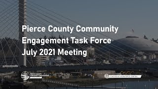 July 2021 Meeting