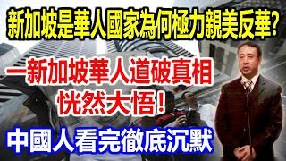 新加坡是華人國家為何極力親美反華?一新加坡華人道破真相恍然大悟!中國人看完徹底陷入沉默