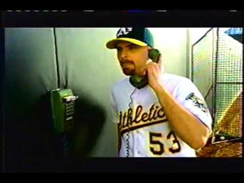 2004 Oakland A's commercial: Chad Bradford and Ken Macha