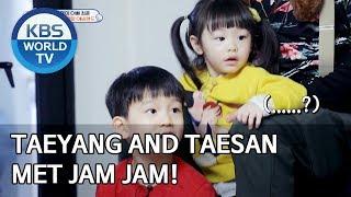 Taeyang and Taesan met Jam Jam! [The Return of Superman/2020.03.15]